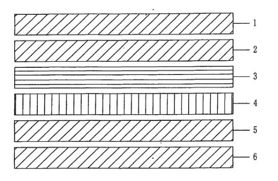 Case Four (5 wood+1 carbon fiber)