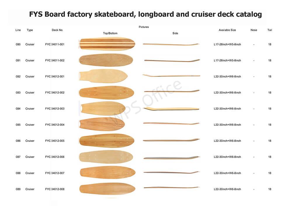 FYS Board factory deck series 10