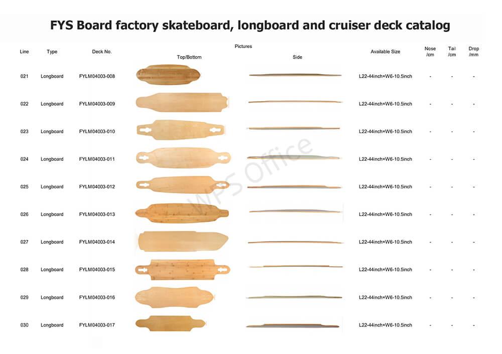 FYS Board factory deck series 3
