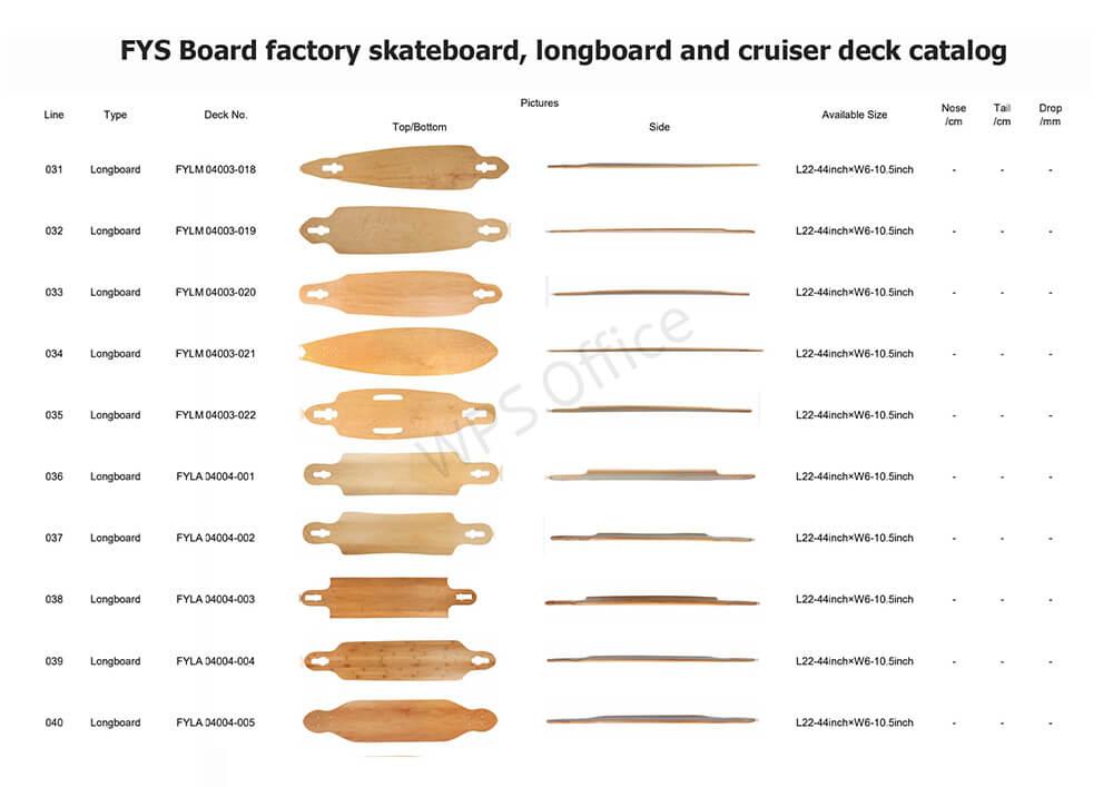 FYS Board factory deck series 4