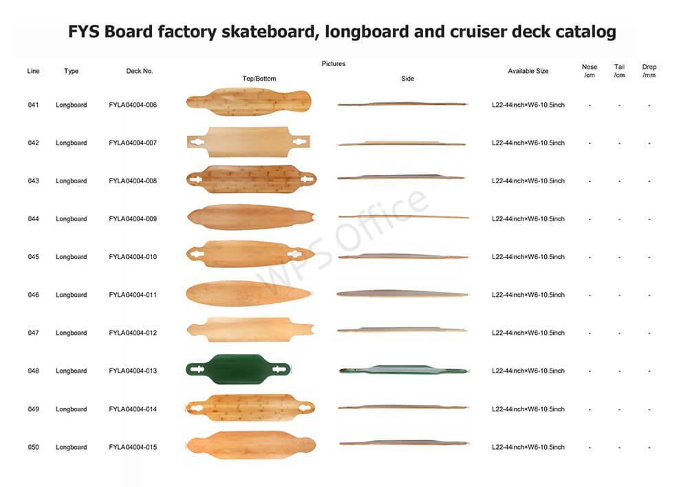FYS Board factory deck series 5