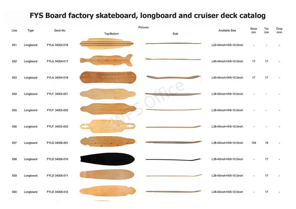 FYS Board factory deck series 6