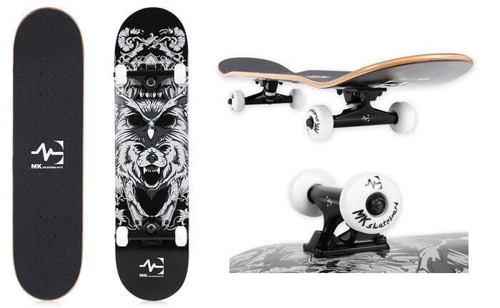MK wholesale skateboard details