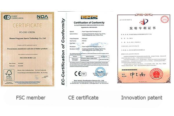 FYS certificate