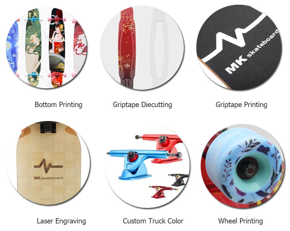 custom skatebord manufacturing service