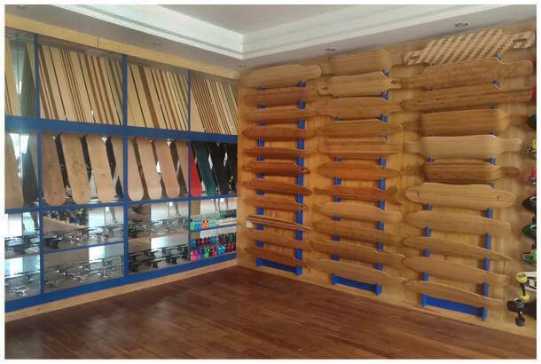 FYS skateboard factory china showroom