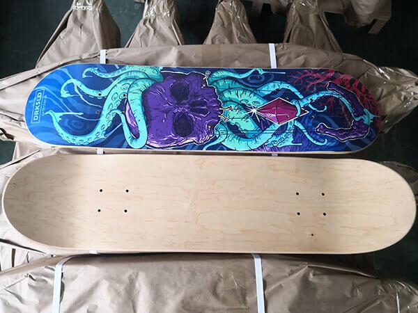 custom maple deck building