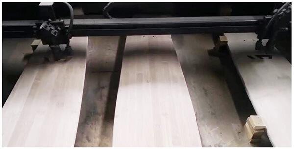 skateboard deck laser engraving