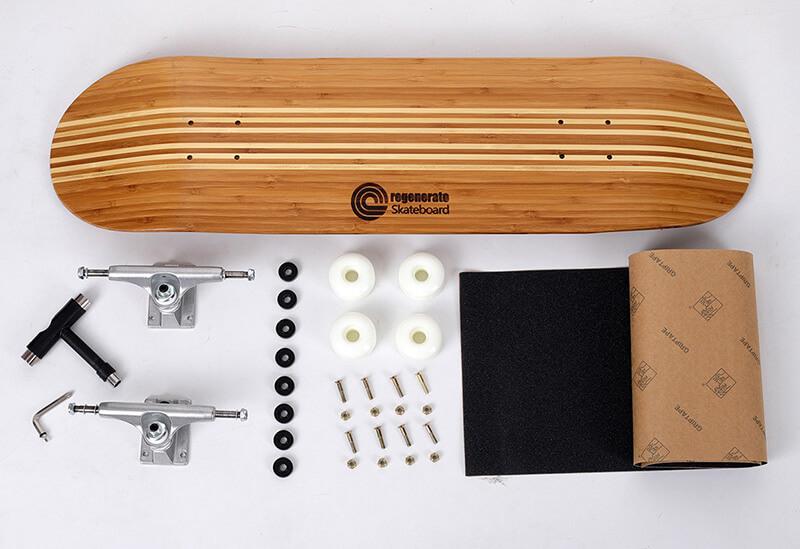 bamboo skateboard 1